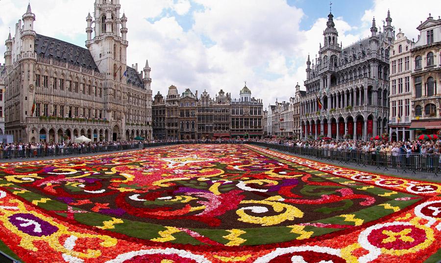 Viajes a Bruselas, Bélgica