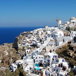 Cruceros mediterráneos, islas griegas