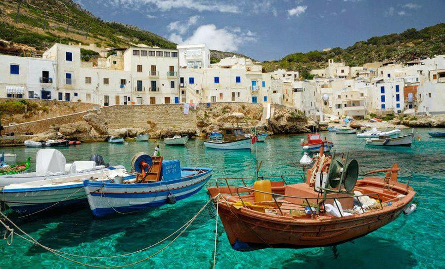 Sicilia, islas mediterráneas, Italia